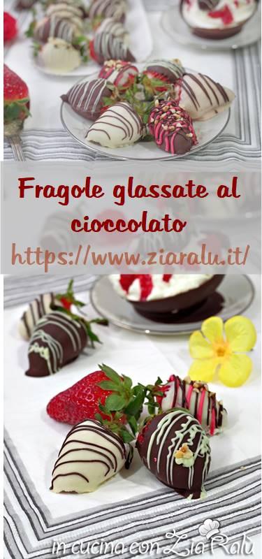 fragole glassate al cioccolato
