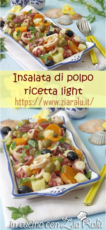 insalata di polpo light