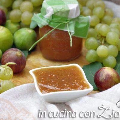 confettura di fichi e uva