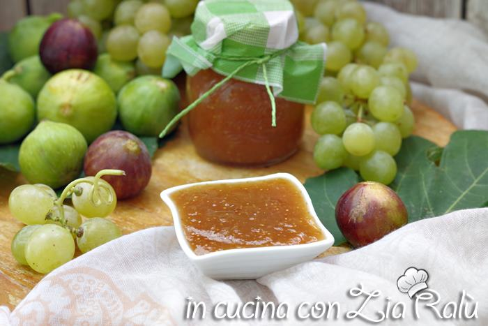 Confettura di fichi e uva - conserva dolce