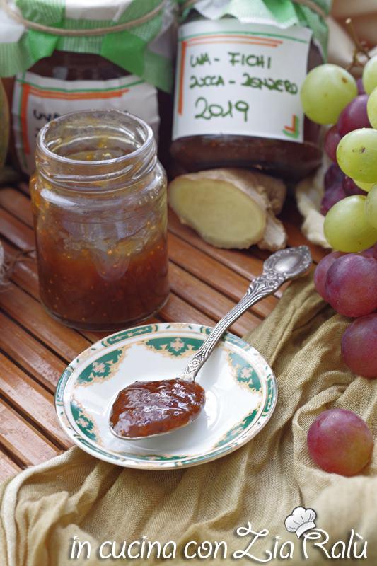 confettura di fichi zucca e uva