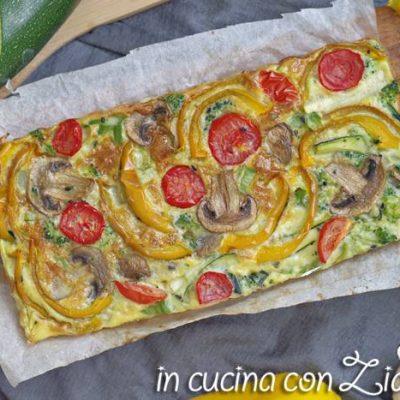 Frittata autunnale al forno - ricetta light
