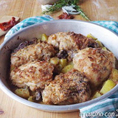 sovracosce di pollo al forno gratinate