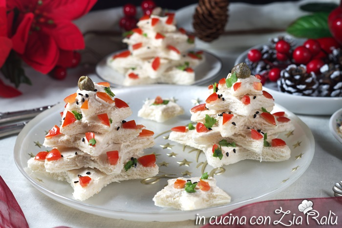 Antipasti Per Natale.Alberelli Di Pancarre Antipasto Di Natale In Cucina Con Zia Ralu