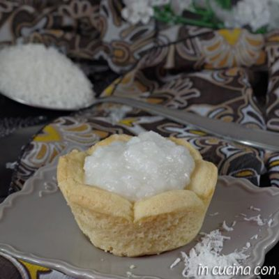 crema al cocco senza uova e lattosio