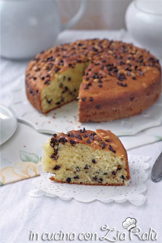 torta ricotta e cioccolato senza burro