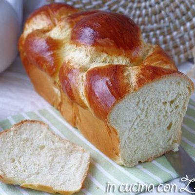 pan brioche senza lattosio