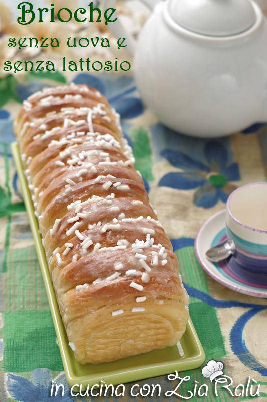 plum-cake di brioche senza uova e lattosio