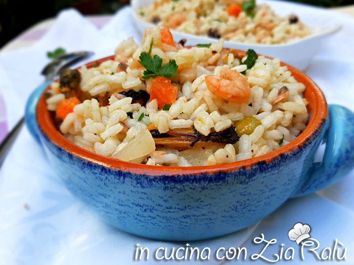 insalata di riso di mare