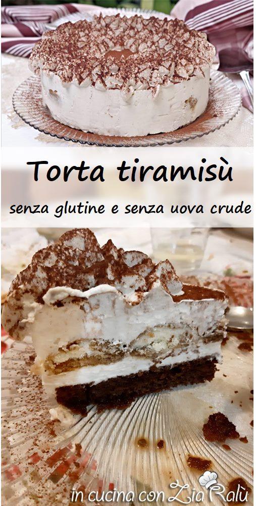 torta tiramisù senza glutine