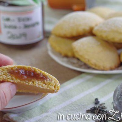 biscotti alla zucca e confettura