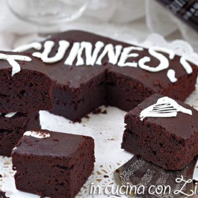 brownies alla guinness